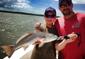 Gunnar's 23 inch redfish